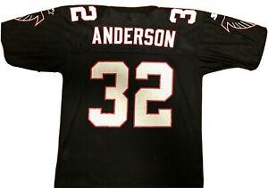Vintage Atlanta Falcons Jersey Jamal Anderson 90s Starter Jersey Size 48