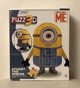 Puzz3D Despicable Me Stuart The Minion Beginner Puzzle - New Sealed