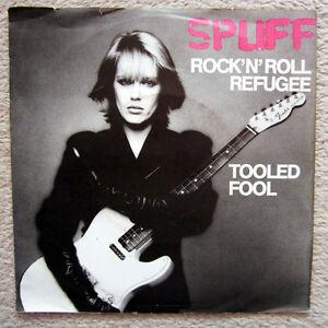 Single / SPLIFF / ROCK'N ROLL REFUGEE / 1981 / CBS / RARITÄT /