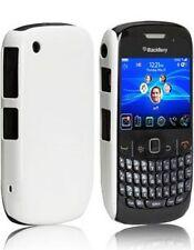 PROMO  ̶7̶,̶5̶0̶ €̶ - Coque Rigide Blanche Revêtement Grip Blackberry 8520 Curve