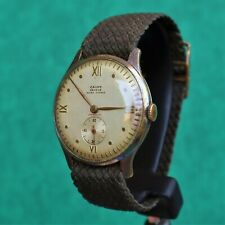 CAUNY Geneve Vintage 1940s Watch Reloj Montre Orologio Uhr Swiss