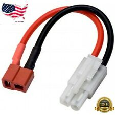 Charger Adapter Cable Deans T-plug Female to Tamiya Molex Kyosho Male Lipo Lead