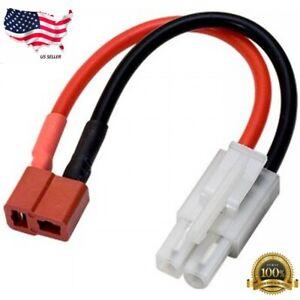T-Plug female to Tamiya Molex Male connector / adapter Lipo / NiMH 12 AWG Wire