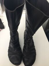 Trippen Black Women Shoes  Boots Size 39