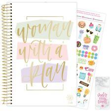 2021 Woman with a Plan Calendar Year Daily Planner Agenda 12 Month Jan - Dec