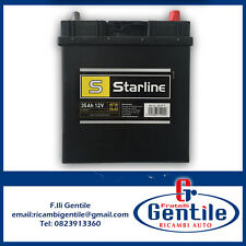 Batterie Voiture Honda Jazz 1.2/1.4 35AH 300A Polo Positif Dx Starline BASL35JPT