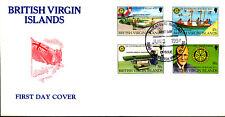 ROTARY CLUB INTERNATIONAL HOSPITAL EQUIPMENT HEALTH MEDICINE 1994 VIRGIN ISL FDC