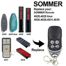 Handsender f/ür Zigarettenanz/ünder f/ür SOMMER 868 MHz Funk Fernbedienung ersetzt 4020 4026 TX03-868-4