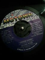 "Diana Ross – Upside Down Vinyl 7"" US Motown Import Single M 1494F 1980"