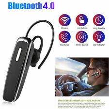 Bluetooth Wireless Rechargeable Headset Hands-free Pro for Apple Samsung LG HTC