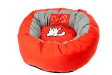 Simons Cat Katzenbett rund rot H 17 cm ø 46 cm rot  Katze Ruheplätze Betten