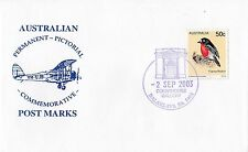 Permanent Commerative Pictorial Postmark - Balaklava 2 Sep 2003 - 50c