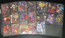 1995 Marvel Flair Annual Powerblast Insert Set of 24 Cards NM/M