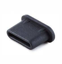 15x USB TYPE-C ANTI DUST PLUG BLACK for Sony Xperia XZ1 XZ2 XZ3