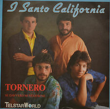 "Tornero-I SANTO CALIFORNIA 7"" single (i558)"