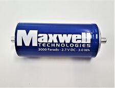 Kondensator Maxwell Boostcap BCAP3000 P270 K2 Ultra Capacitors 2,7 V 3000 Farads