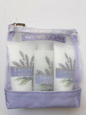 The Floral Collection Lavender Bath & Body Travel/Gift Set Shower & Bath Cream