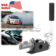 Silver Hydraulic Racing Hand E Brake Drift Rally Handbrake Aluminium Lever HB01