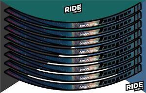 Hope Tech 35W 27.5 Rim Decal/Sticker Set - Nebula