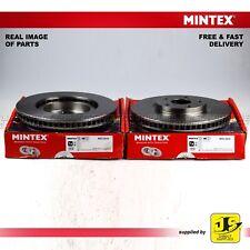 FOR LEXUS LS (_F3_) 430 10/2000 - 08/2006  MINTEX FRONT DISC BRAKES MDC2638 PAIR