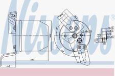 Nissens 95004 Receiver Dryer ALPINA B3 (E36)