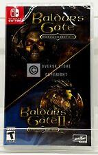 Baldur's Gate: I and II Enhanced Edition - Nintendo Switch - Brand New