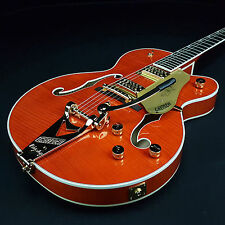 NEW Gretsch G6120TFM Chet Atkins Flame Maple Players Edition Nashville w/ Bigsby
