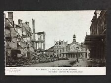 Vintage PC: Military WW1: #M305: Arras, The Station From Gambetta Street
