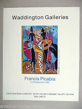 Francis Picabia Art Gallery Exhibit PRINT AD - 1990 ~~ Au Theatre 1935