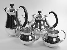 Mappin & Webb Silver Plate-Eric Clements PATTERN-Set 4 pezzi di tè