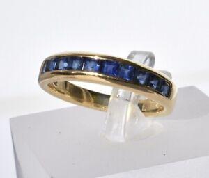 Tiffany & Co Sapphire Eternity Ring 18k