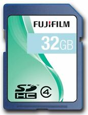 FujiFilm SDHC carte mémoire 32GB class 4 pour Fuji FinePix S1000fd