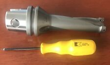 Kennametal Hertel KM Carbide Insert Drill