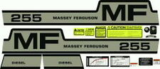255 Massey Ferguson Tractor Complete Decal Set Diesel High Quality Decals 🎯