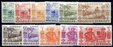 NOUVELLES HEBRIDES 1953 Yvert 144-154 * SATZ TADELLOS (F3835
