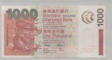 Hong Kong Standard Chartered $1000  2003 UNC  AA First Pefix 香港渣打银行