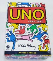 UNO Artiste Series 2 KEITH HARING 112 Card Game Deluxe Box Set SEALED, DENTED