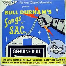 Bull Durham - Songs Of Sack LP Mint- SM 1001 1 Vinyl Record Private USAF