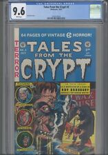 Tales From the Crypt #2 CGC 9.6 1990 Gladstone Jack Davis Cover : New Frame