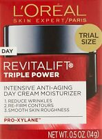 L'Oreal Paris Revitalift Triple Power Intensive Day Cream Moisturizer 0.5 oz.