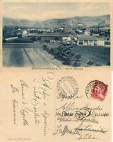 Cartolina di Montechiaro Denice (Montechiaro d'Acqui) - Alessandria, 1937