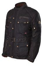 Wachsjacke Modeka Glasgow schwarz Gr. L