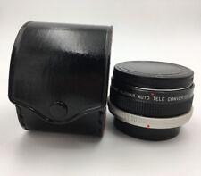 Super ALBINAR Auto Tele converter 2X  lens for CANON FD mount camera