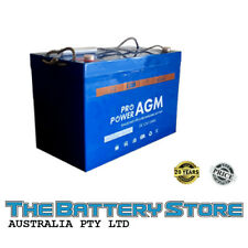 100AH 110AH 12V AGM SEALED DEEP-CYCLE RECHARGEABLE BATTERY CARAVAN 4WD MARINE