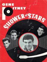 GENE PITNEY & THE CRYSTALS 1965 SHOWER OF STARS TOUR CONCERT PROGRAM-DOBIE GRAY