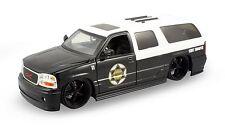 Jada Heat GMC 2002 Yukon Denali Police State Trooper SUV 1:24 scale diecast J215