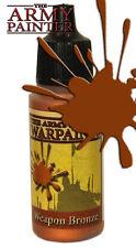 THE Army Painter WP1133 acrilico metallico Warpaint ARMA Bronzo 18ml Bottiglia