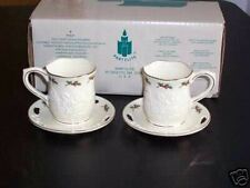 PARTYLITE HOLLY LEAF CANDLE HOLDERS - RETIRED - NIB!!!