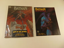 Batman Son of the Demon HC sealed & TPB both bought new never opened  great cond