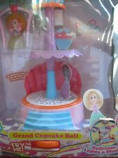 Cupcake Surprise Mini Doll Grand Cupcake Ball Ballroom Playset Lights Music New